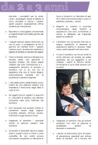 Continua dal precedente e contiene info sui pericoli dai 2 ai 3 anni
